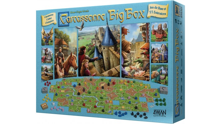 Carcassonne Big Box (FR)
