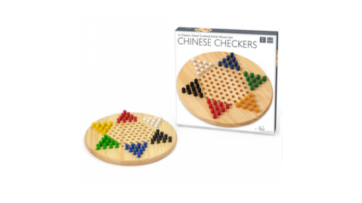 Wooden Chinese Checkers (EN)