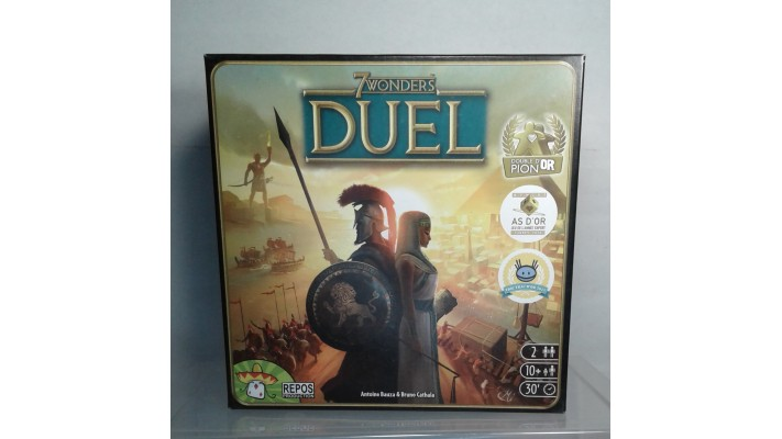 7 wonders - Duel (FR) - Location