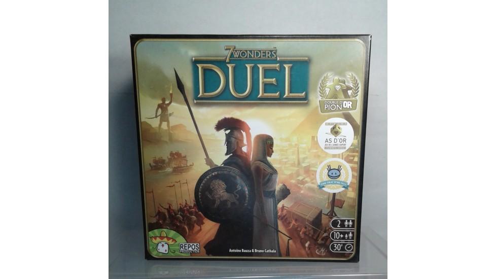 7 wonders - Duel (FR) - Location