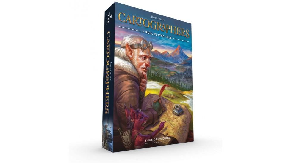 Cartographers - A roll player tale (EN)