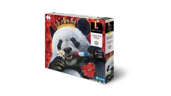 Casse-Tête Panda - 1000 morceaux (FR/EN)