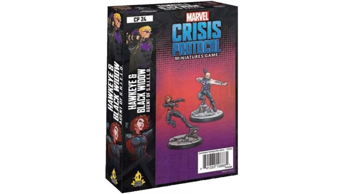 Crisis Protocol - Hawkeye & Black Widow