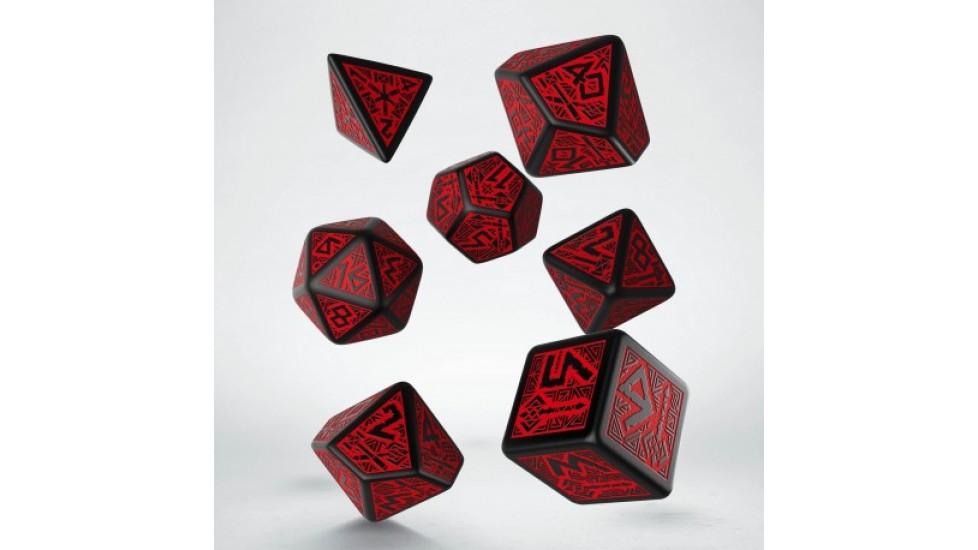 7 dés polyhédriques - Q Workshop Dwarven