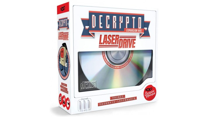 Decrypto laser drive (FR)