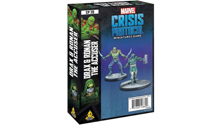 Crisis Protocol - Drax & Ronan the accuser