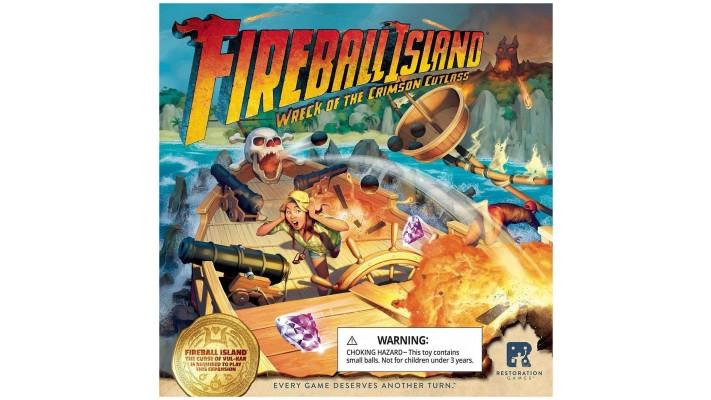 Fireball Island - The Wreck of The Crimson Cutlass