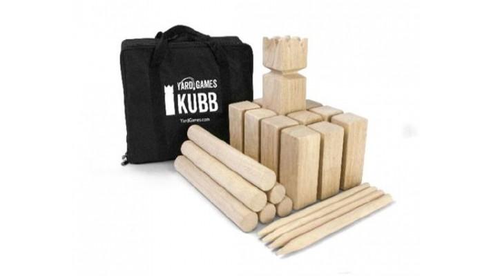 Hardwood Kubb - Standrard Size (EN)