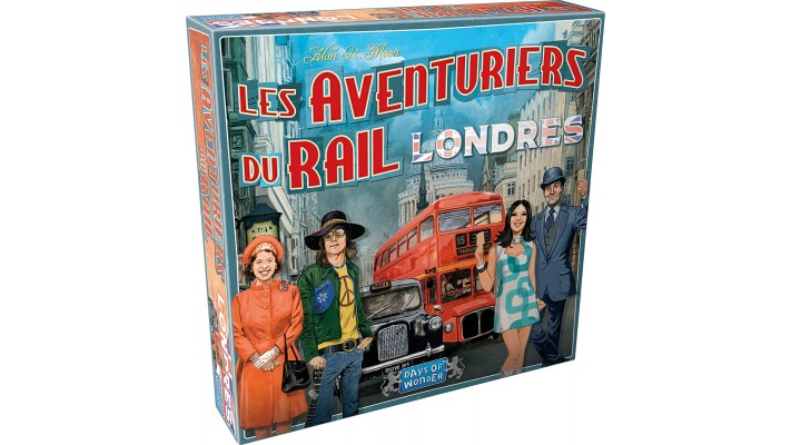 Les Aventuriers Du Rail -  Express - Londre (FR)