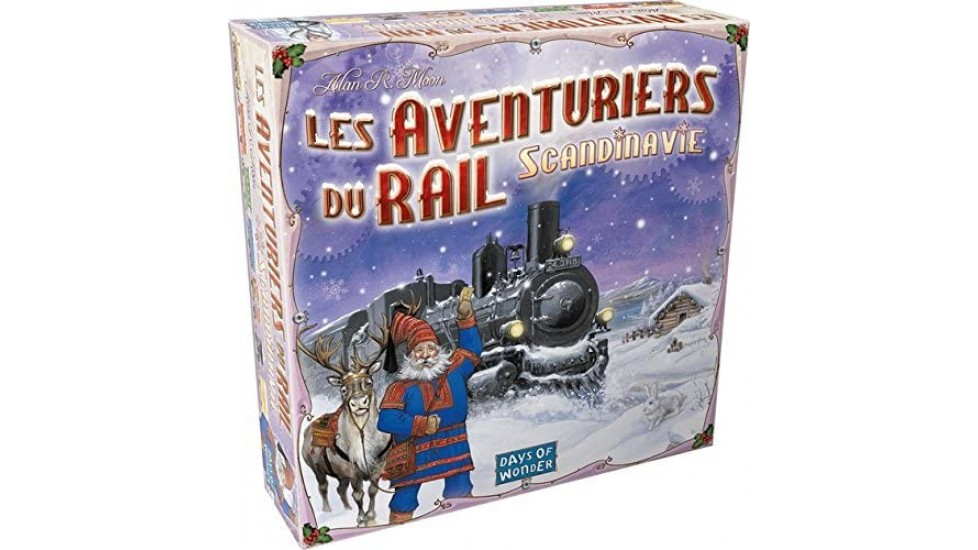 Les Aventuriers Du Rail Scandinavie (FR)