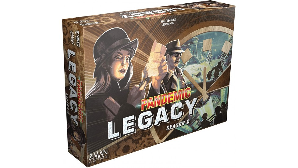 Pandemic Legacy - Season 0 (EN)