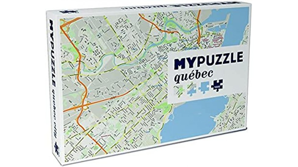 My puzzle Quebec (FR)