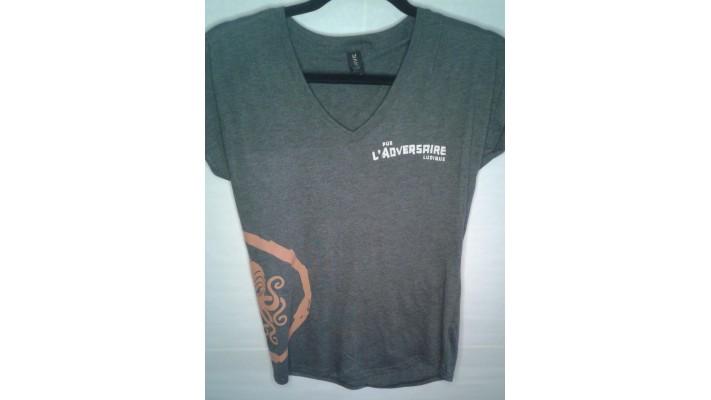 T-shirt pour Dame - Col en V