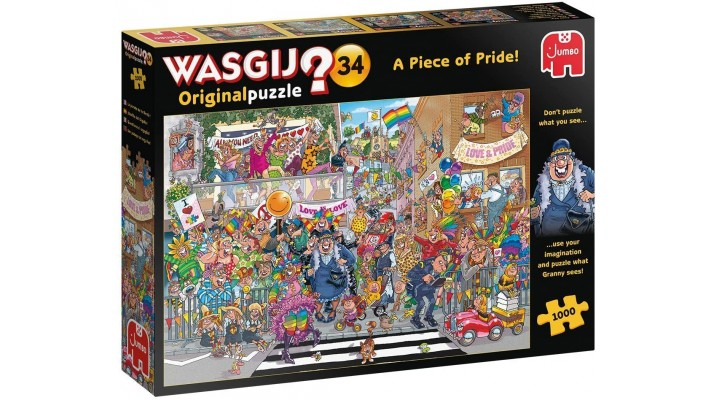 Wasgij ? - Original Puzzle - A Piece Of Pride (FR/EN)