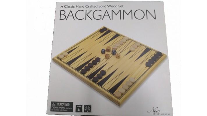 Wooden Backgammon (EN)
